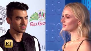Joe Jonas and Sophie Turner Spark Romance Rumors and Pack on the PDA in Europe -- See the Pics!