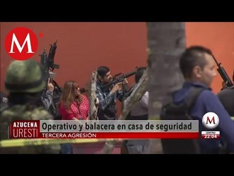 Así fueron las 4 balaceras en Jalisco