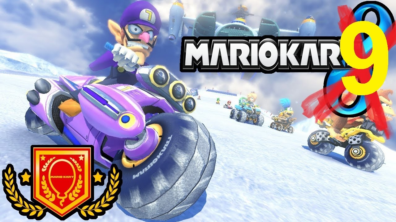mario kart 9 for nintendo 3ds and wii u waluigi trailer e3 video 2017 youtube. Black Bedroom Furniture Sets. Home Design Ideas