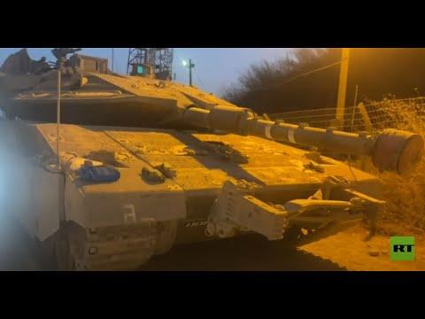 الدبابات الإسرائيلية تستنفر على الحدود مع لبنان ومراسلتنا تنقل الصورة من مكان الحدث