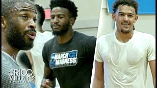 Trae Young, Jordan Bell, PJ Tucker, Thomas Bryant, Jordan Crawford + More at Rico Hines Runs