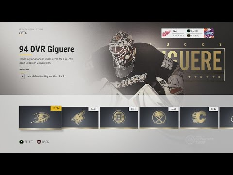 NHL 17 HUT SETS AND HEROES EXPLAINED
