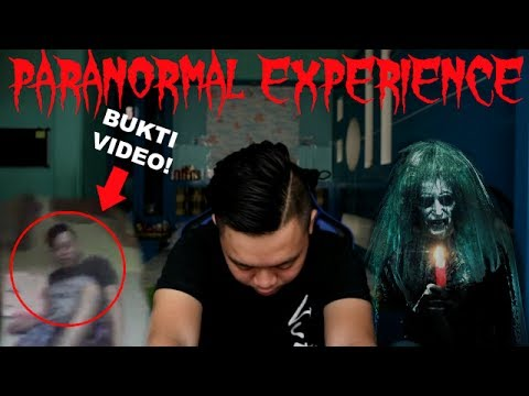 PARANORMAL EXPERIENCE + Bukti Video Hantu! 90% Kalian Ga Berani Nonton Sampe Habis!