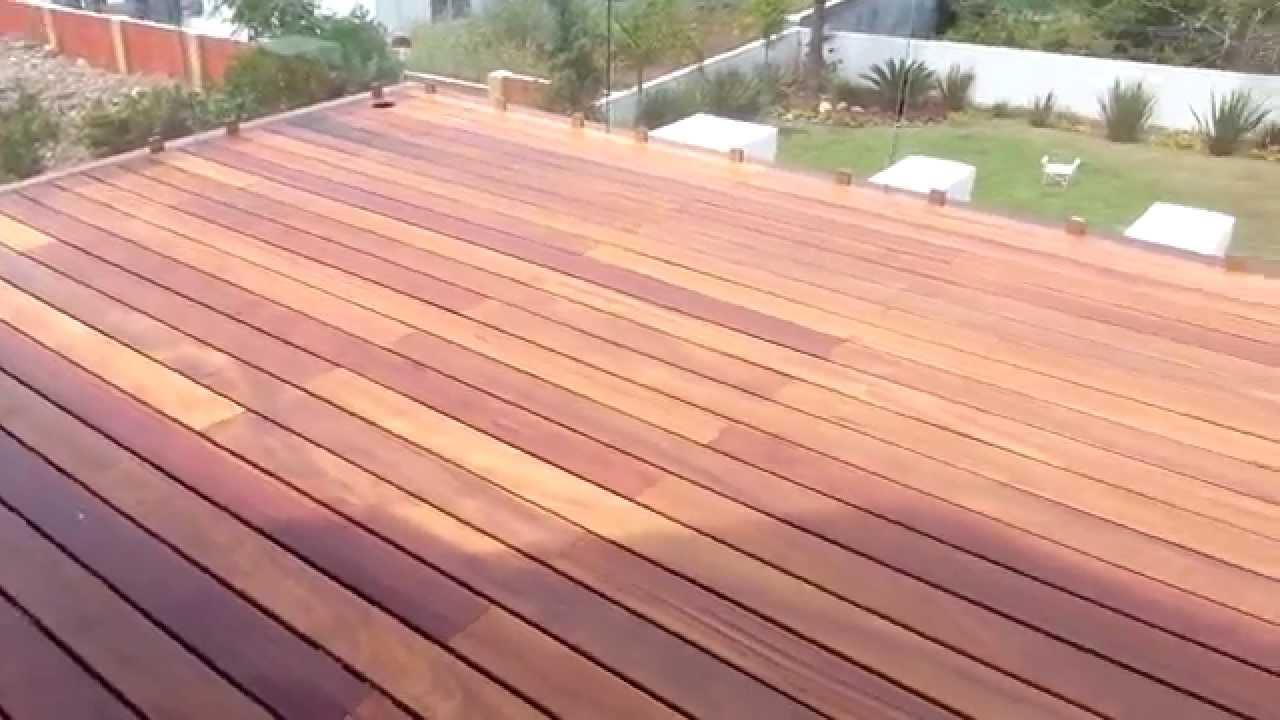 Deck Cumaru Piso De Madera En Monterrey Instalaci N