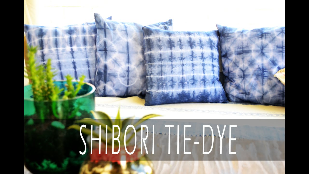 Shibori Tie Dye Techniques  YouTube