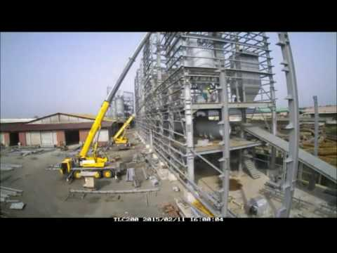 35t/h Cement Grinding Center - Douala / Cameroon