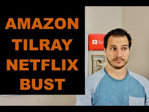 LETS TALK AMAZON, TILRAY & NETFLIX