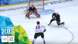 Ice Hockey - ​Men's Preliminaries - USA vs Canada | ​Lillehammer 2016 ​Youth Olympic Games​