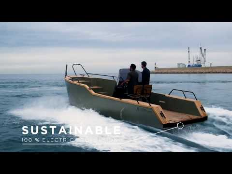 X SHORE EELECTRIC 8000 - electric boat