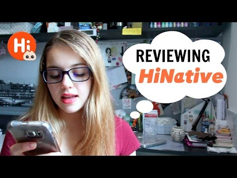 HiNative: Global Q&A Language Exchange App Review!