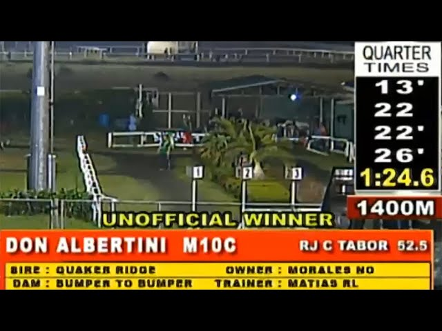 DON ALBERTINI - MMTCI RACE 11 JANUARY 26, 2020 BAYANG KARERISTA HORSE RACING AT METRO TURF