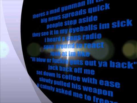 ICP Shugston brooks 1959-2004 lyrics on screen
