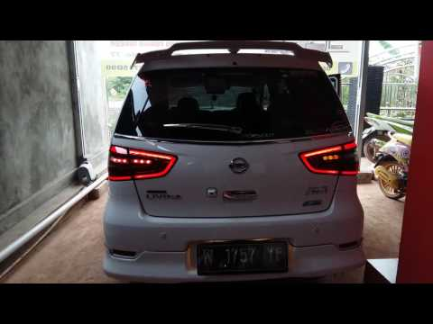 Led bar + sein flowing All New Nissan Grand Livina 2016 (NLC_2821)