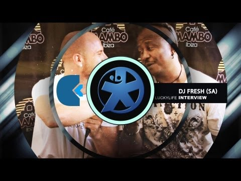 5FM's DJ FRESH Interview on Lucky Life TV