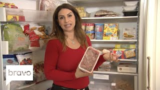 RHONJ: Jennifer Aydin's Refrigerator Is Making Us Hungry (Season 9, Episode 1) | Bravo