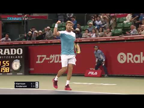 Harrison puts out Anderson at Rakuten Japan Open   Tokyo 2017 Highlights Day 3
