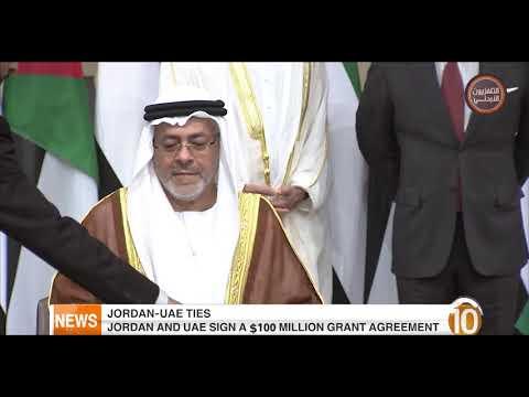 English News at Ten on Jordan Television 20-11-2018