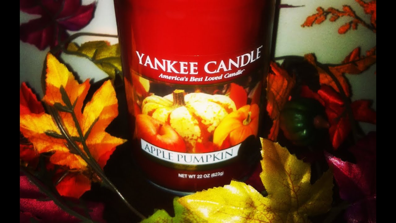 Yankee Candle Review Apple Pumpkin Youtube