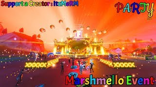 *Cinematic* Marshmello Event in Fortnite! BASS BOOSTED!! (Fortnite Battle Royale)
