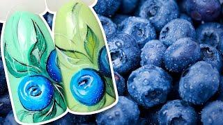 видео Малиновый маникюр: фото ягодного дизайна ногтей