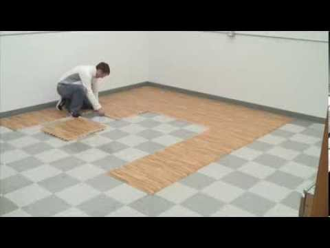 Comfort Tile Trade Show Flooring Youtube