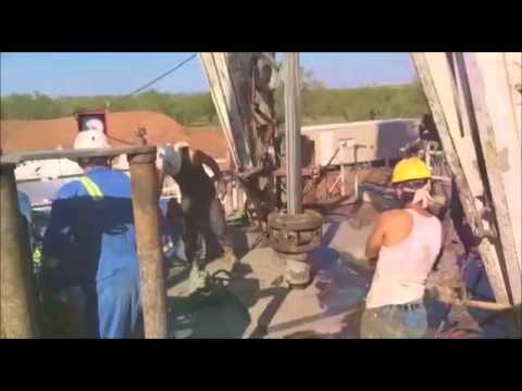 North American Drilling Corporation: Brown #1 Well Drilling Video