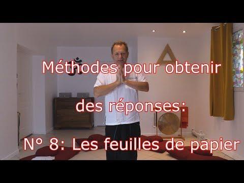 Méthodes Pour Obtenir Des Réponses: N° 8: Les Feuilles De Papier