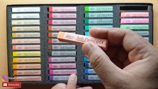 Mungyo Gallery Artists' Soft Pastels 48 Colors Unboxing and Review screenshot 5