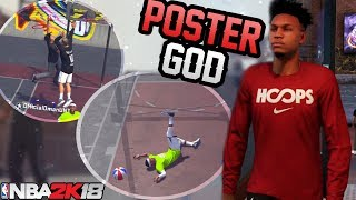 NBA 2K18 Playgrounds: Poster God Taking Flight! Easiest Build To Play With!