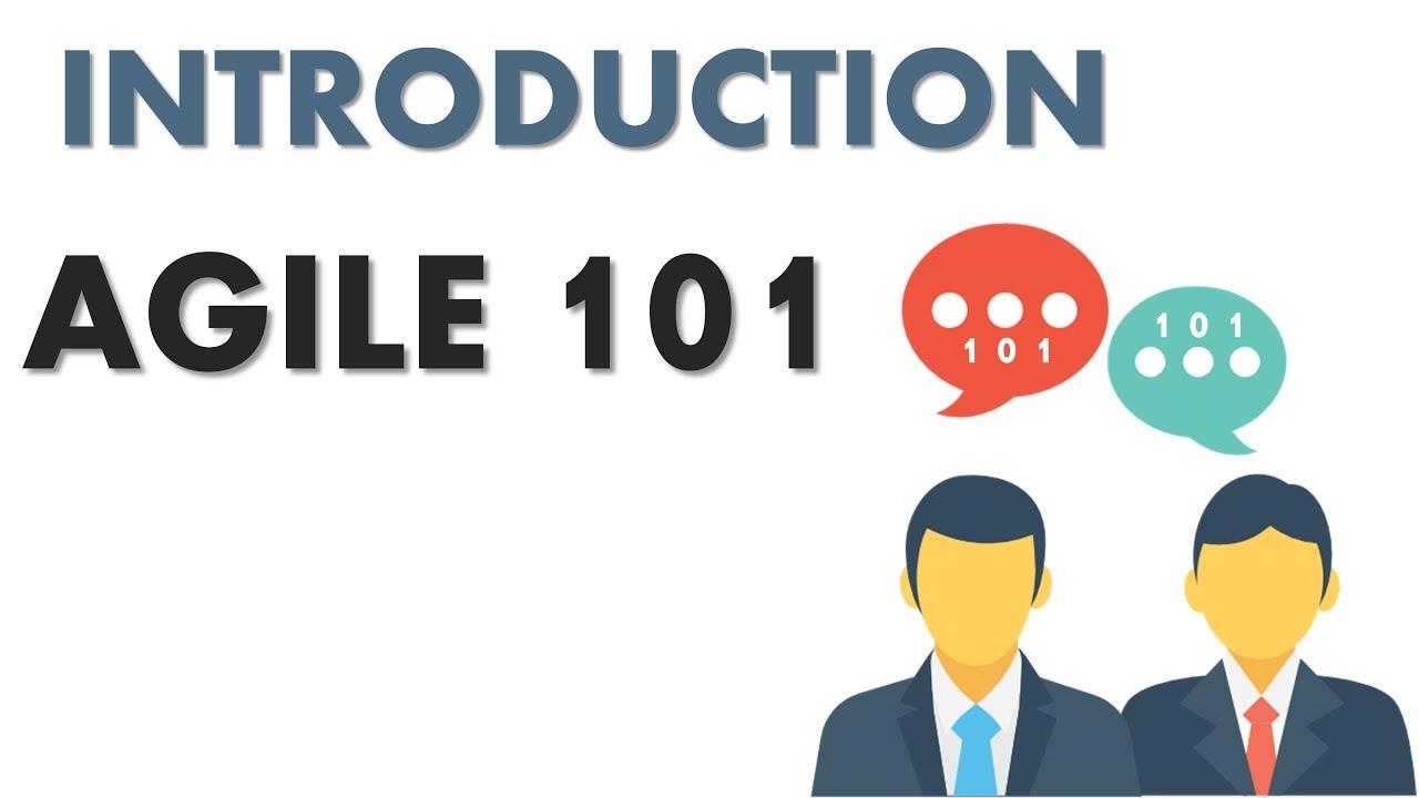 Agile 101 Pmi Acp Basics Introduction Youtube