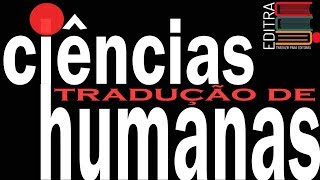 TRADUÇÃO DE CIÊNCIAS HUMANAS