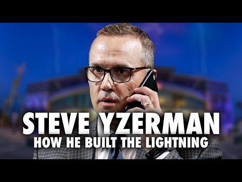 How Steve Yzerman Built The Tampa Bay Lightning