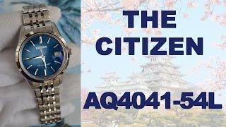 Обзор Citizen AQ4041-54L из серии самых точных часов в мире