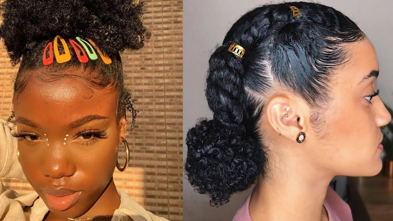 Cute Natural Hairstyles To Try Youtube