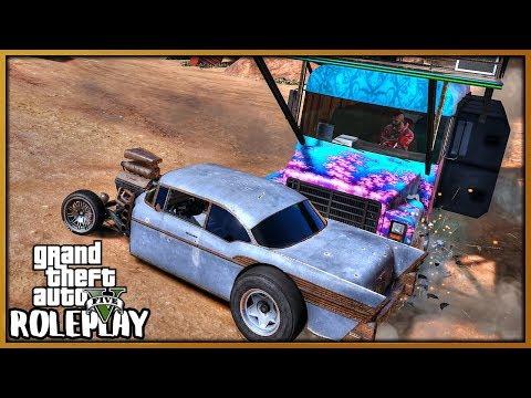 GTA 5 Roleplay - 'FUNNY' Demolition Derby Event | RedlineRP #689