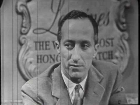 Pre-NASA Propaganda: Masons, Start Your Lying! Space, Satellites & UFOs 1954 interview Milton Rosen