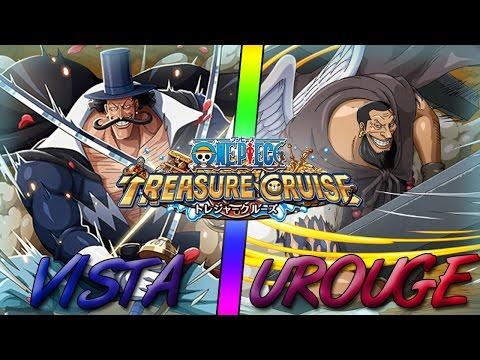 J'ai Vista et Urouge ! (mon équipe)  | One Piece Treasure Cruise