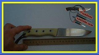 Обзор самодельного ножа из рессоры ...