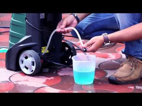 Multi Purpose Home & Car Washer - Bosch AQT 37 13 Plus Demo video