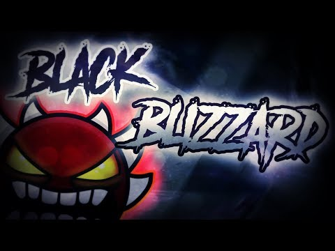 Black Blizzard by Krazyman50 (Extreme Demon) [Geometry Dash 2.11]