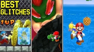 10 Amazing Glitches in Mario Games (1981 - 2018)