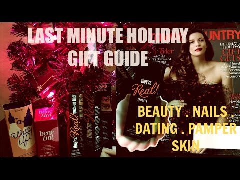 Christmas Gift Guide Video Beauty, Nails, Dating I ByBare