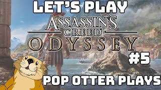 Assassin's Creed Odyssey Let's Play #5 | Pop Otter Plays Live!