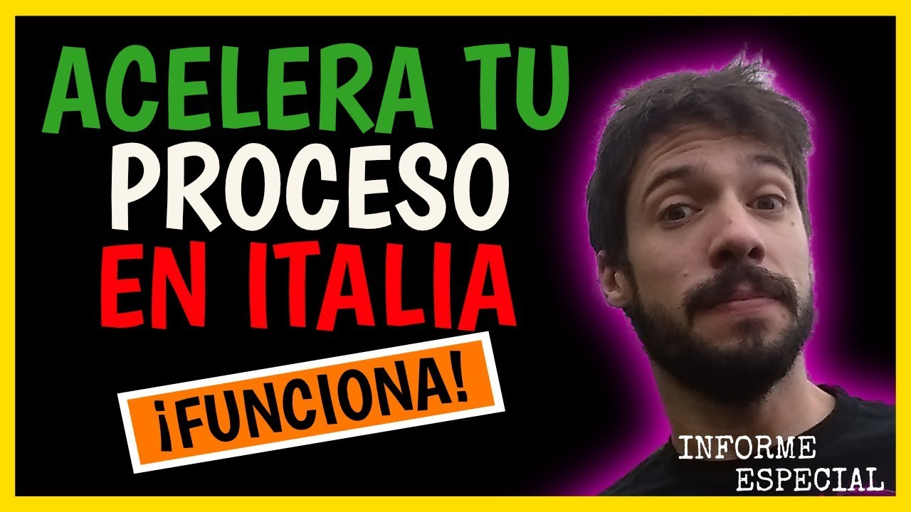 ✅ Un consejo [QUE FUNCIONA] para acelerar tu ciudadanía en Italia