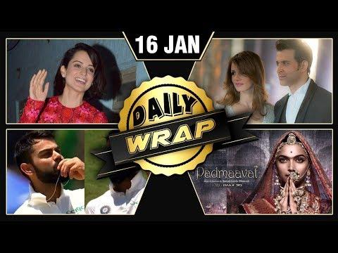 Virat Anushka's Love, Padmaavat Imax 3D Release, Kangana's Love Poem | Jan 16 | Daily Wrap