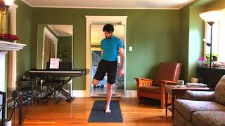 Standing Bow Pulling Pose