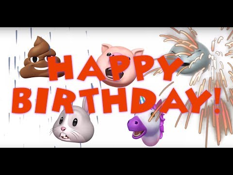 HAPPY BIRTHDAY ANIMOJI | VoicePlay