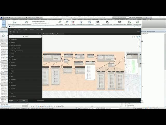 Coordination Report visualized in Revit