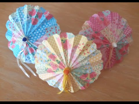 Doll DIY - Making A Paper Umbrella