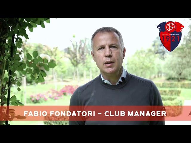 LE DICHIARAZIONI DEL CLUB MANAGER FABIO FONDATORI SU CURVA NORD E CENTENARIO